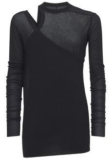 Rick Owens Banana Ziggy L/s Wool Knit T-shirt