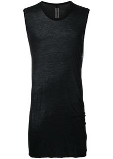 Rick Owens basic sleeveless T-shirt