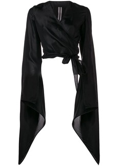Rick Owens bat sleeve blouse