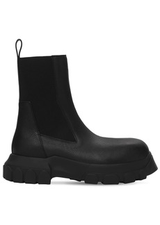 Rick Owens Beatle Bozo Tractor Leather Chelsea Boot