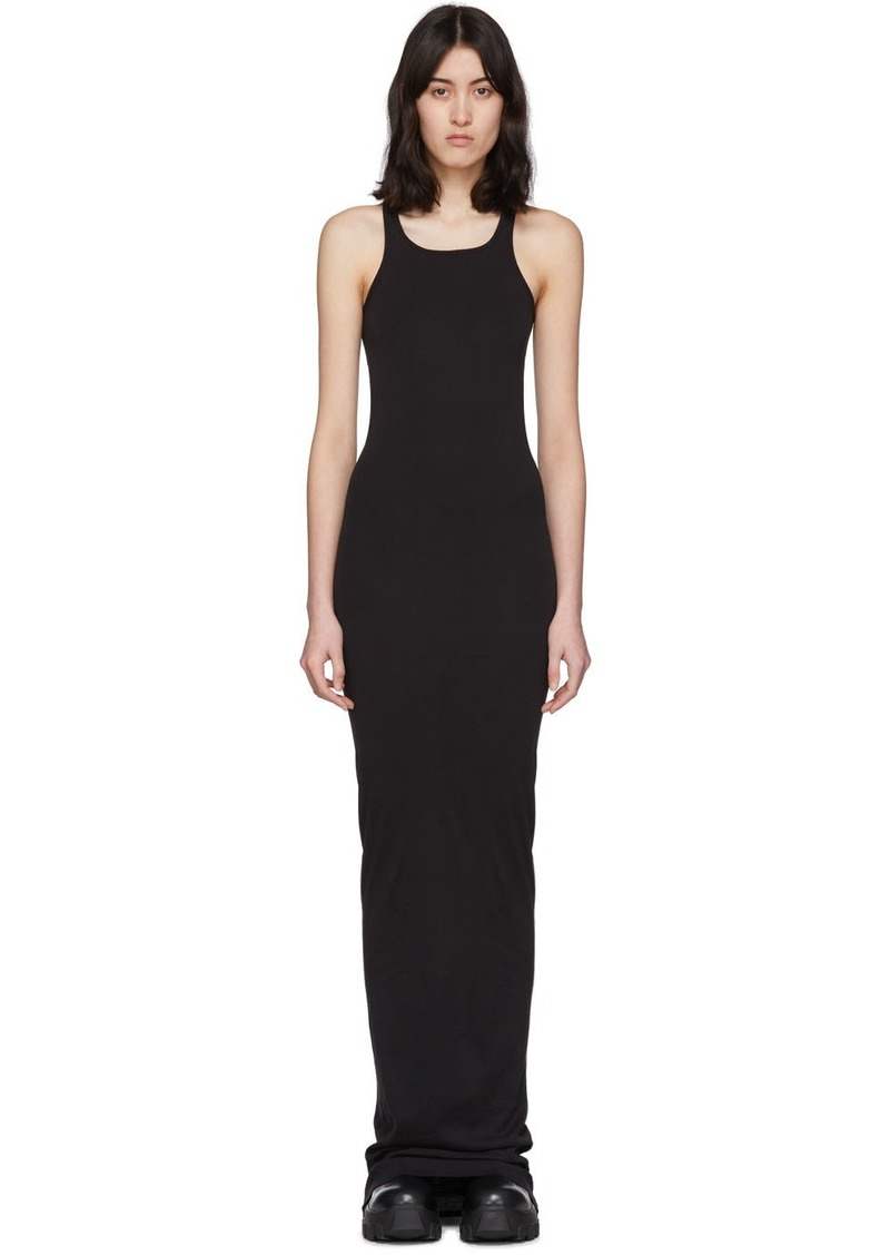 Rick Owens Black Abito Gown