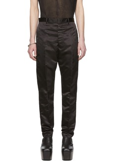 Rick Owens Black Astaires Trousers