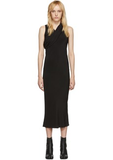 Rick Owens Black Banana Tank Dress