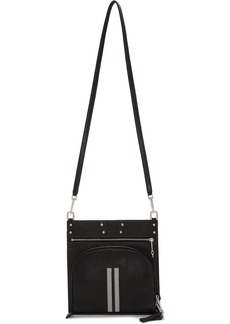 Rick Owens Black Flat Moon Pocket Bag