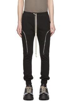 Rick Owens Black Jog Cargo Pants