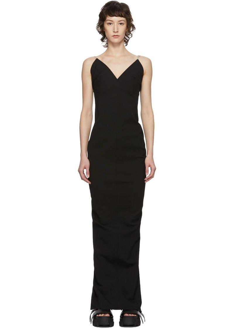 Rick Owens Black Maillot Dress