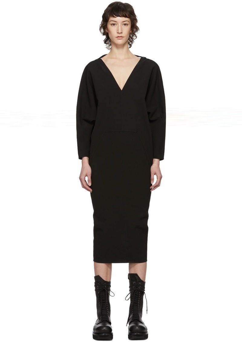 Rick Owens Black Release Dress