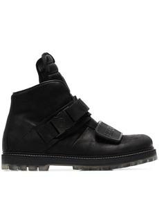 Rick Owens Black Rotterhiker boots