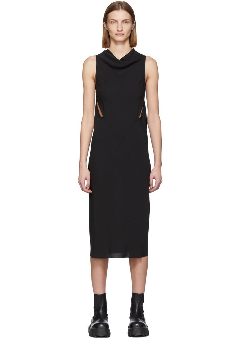 Rick Owens Black Skorpio Dress