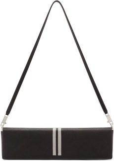 Rick Owens Black Soft Demi Quiver Clutch