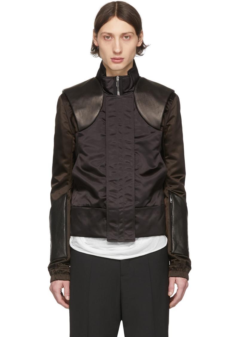 Rick Owens Black Stag Jacket