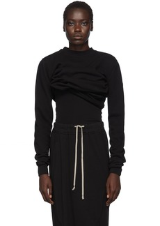 Rick Owens Black Subhuman Sweatshirt