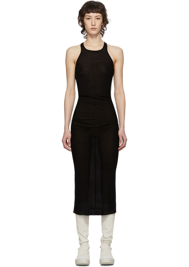 Rick Owens Black Tank Dress