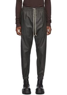 Rick Owens Black Track Pants
