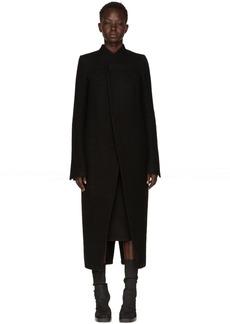 Rick Owens Black Tusk Coat