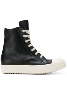 Rick Owens bootie high-top sneakers