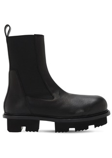 Rick Owens Bozo Megatooth Leather Boots