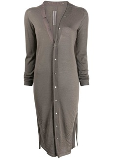 Rick Owens button-down cardi coat