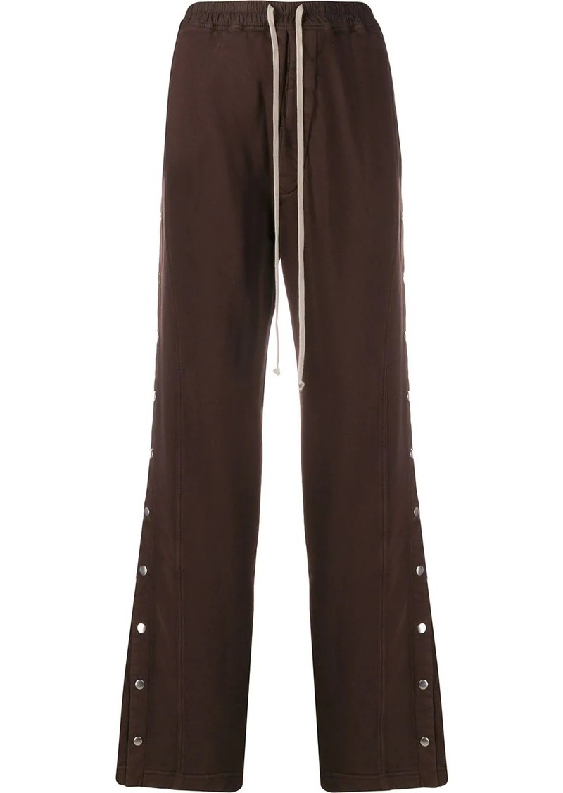 Rick Owens button-up wide leg trousers