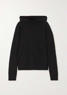 Rick Owens Cashmere And Wool-blend Hoodie