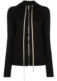 Rick Owens cashmere hoodie