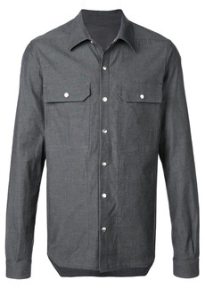 Rick Owens chest pocket shirt