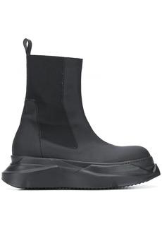 Rick Owens chunky heel elasticated boots