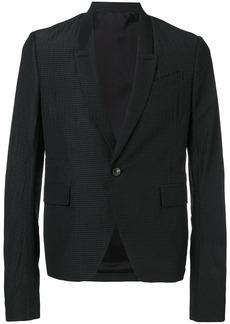 Rick Owens classic single-breasted blazer