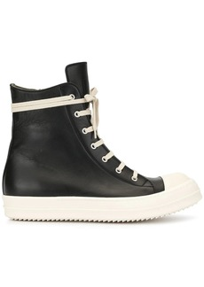 Rick Owens colour block gumboots