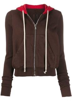 Rick Owens colour block hoodie