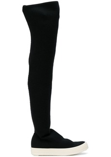 Rick Owens contrast boots