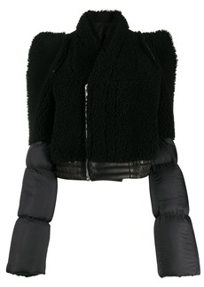Rick Owens contrast padded jacket