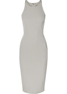 Rick Owens Cotton-blend Cady Midi Dress