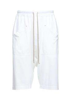 Rick Owens Drkshdw Cotton Jersey Cargo Pods Shorts