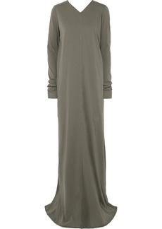 Rick Owens Cotton-jersey Maxi Dress