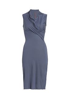 Rick Owens Cowlneck Sheath Dress