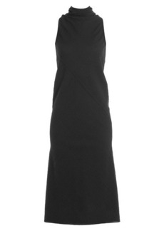 Rick Owens Crepe Dress with Wool