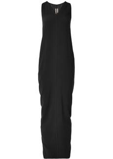 Rick Owens Crepe Maxi Dress