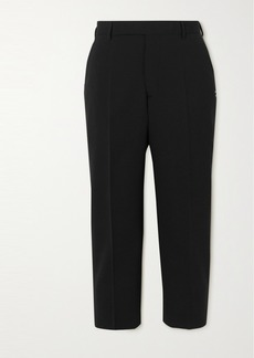 Rick Owens Cropped Crepe Slim-fit Pants