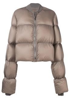 Rick Owens cropped duvet puffer jacket