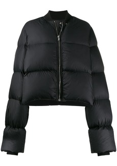 Rick Owens cropped puffer jacket