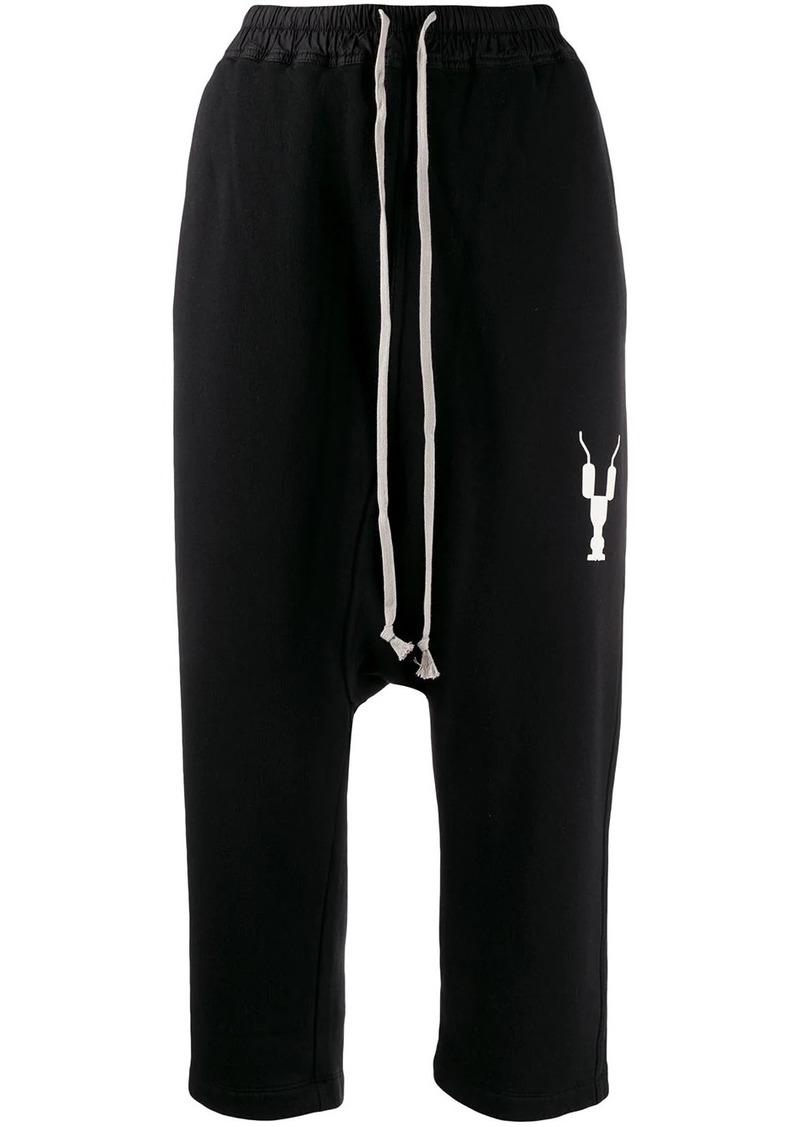 Rick Owens cropped sweatpants