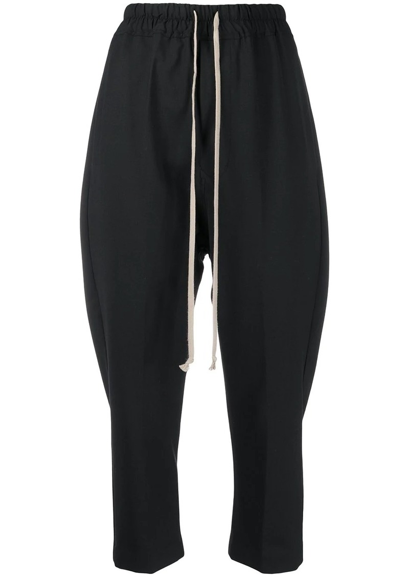 Rick Owens cropped tapered trousers