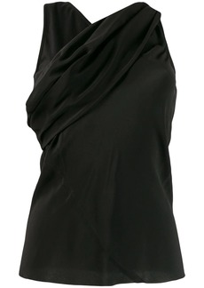Rick Owens cross front blouse