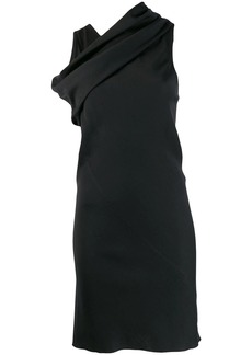 Rick Owens cross neck longline top