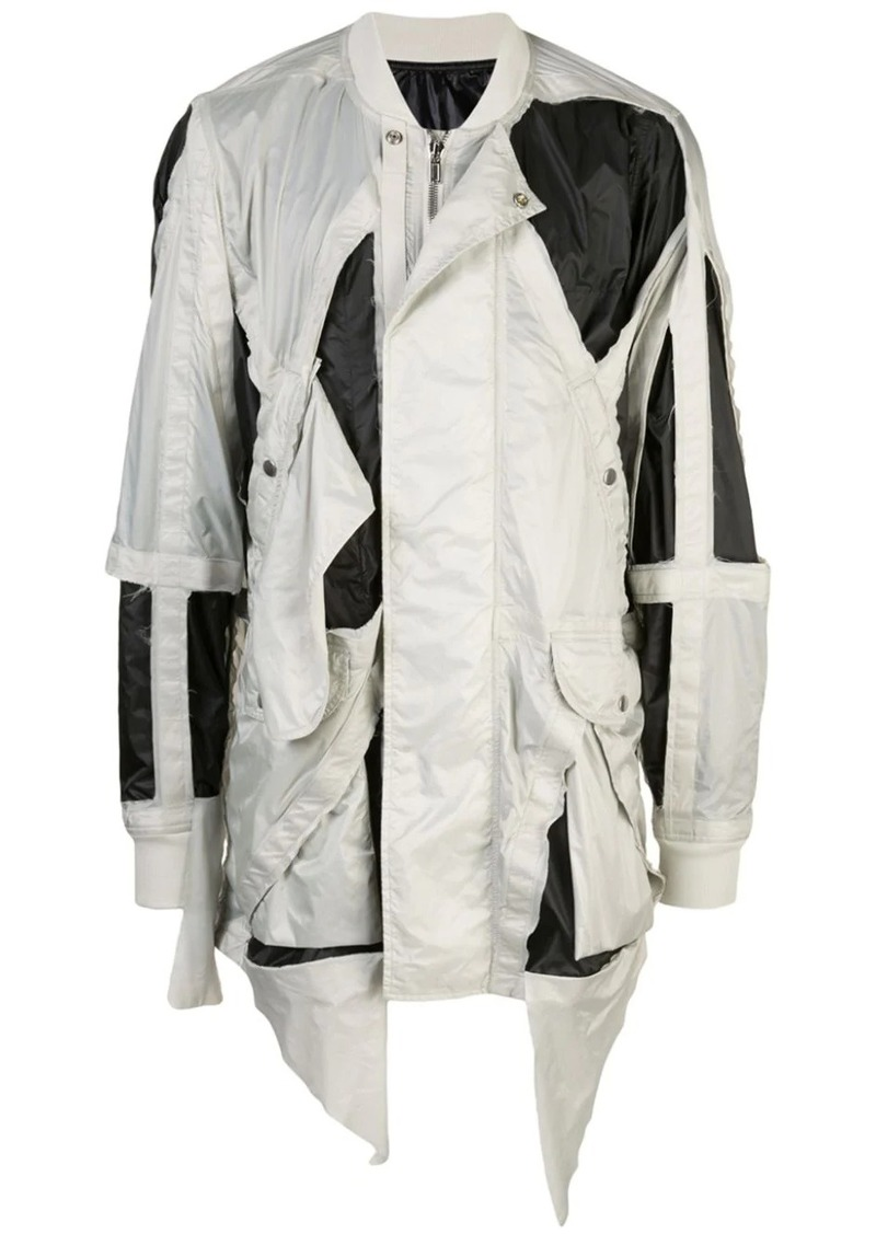 Rick Owens cut-out detail jacket