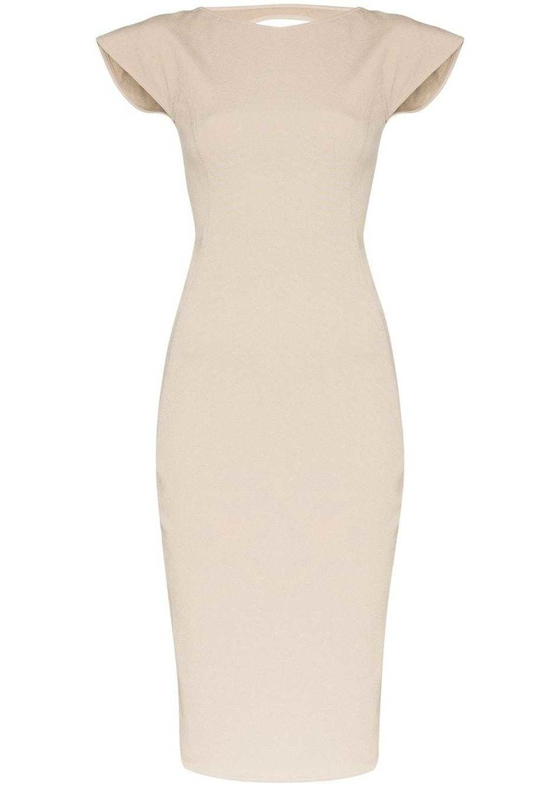 Rick Owens cutout midi dress
