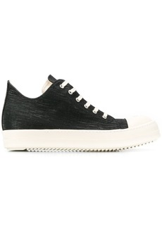 Rick Owens denim low-top sneakers