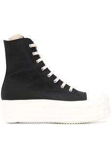 Rick Owens platform hi-top sneakers