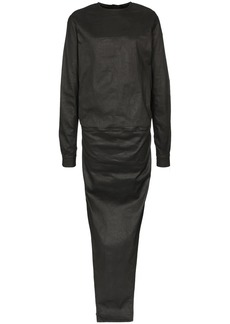 Rick Owens double-layer maxi dress